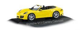 herpa 071024 Porsche 911 Carrera Cabrio II racinggelb Automodell 1:43 online kaufen