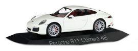 herpa 071048 Porsche 911 Carrera 4S Coupe weiss Automodell 1:43 online kaufen