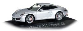 herpa 071055 Porsche 911 Carrera 4S Coupe rhodiumsilber-metallic Automodell 1:43 online kaufen