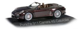 herpa 071079 Porsche 911 Carrera 4S Cabriolet mahagoni-metallic Automodell 1:43 online kaufen