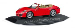 herpa 071109 Porsche 911 Carrera 4 Cabrio indischrot Automodell 1:43 online kaufen