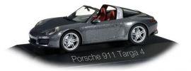 herpa 071154 Porsche 911 Targa 4 achatgraumetallic Automodell 1:43 online kaufen