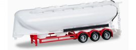herpa 075909-002 Eutersiloauflieger 3achs, weiß unbedruckt Aufliegermodell 1:87 online kaufen