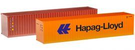 """herpa 076449-002 Container-Set 2x40ft.""""Hapag/TAL"""" Zubehör 1:87 online kaufen"""