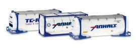 herpa 076500-004 Tankcontainer Set 3 Stück Zubehör 1:87 online kaufen