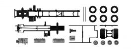 herpa 084444 LKW-Fahrgestell Volvo FH 2achs 2 Stück Bausatz 1:87 online kaufen