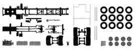 herpa 084703 TS Fahrgestell Volvo mit Chassisverkleidung 4-achs Skandinavien-LKW 2 Stück 1:87 online kaufen