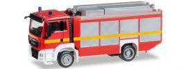 herpa 091077-002 MAN TGS Euro 6 Rüstwagen leuchtrot FW | Blaulichtmodell 1:87 online kaufen