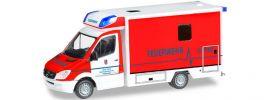 """herpa 091657 MB Sprinter '13 FT RTW """"FW Hürth"""" Blaulichtmodell 1:87 online kaufen"""