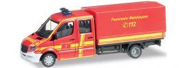 herpa 091817 MB Sprinter Doppel-Kabine FW Mainhausen Blaulichtmodell 1:87 online kaufen