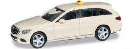 herpa 091893 MB C-Klasse T-Modell Eleg. Taxi Automodell 1:87 online kaufen
