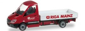 herpa 092043 MB Sprinter Pritsche Riga Mainz | Automodell 1:87 online kaufen