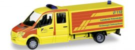 herpa 092067 MB Sprinter GW Rettungsdienst Holzminden | Blaulichtmodell 1:87 online kaufen