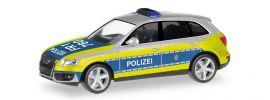 """herpa 092364 Audi Q5 """"Polizei Freiburg"""" Blaulichtmodell 1:87 online kaufen"""