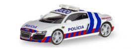 herpa 094245 Audi R8 Policia Portugal  Blaulichtmodell 1:87 online kaufen