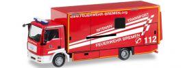 herpa 092456 MAN TGL Koffer ITW FW Bremen | Blaulichtmodell 1:87 online kaufen