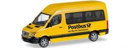herpa 092531 MB Sprinter Bus Hochdach Post | Automodell 1:87 online kaufen