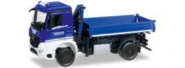herpa 092562 MB Arocs Dreiseitenkipper THW | Blaulichtmodell 1:87 online kaufen