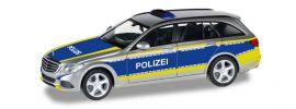 herpa 092692 Mercedes-Benz C-Klasse T-Modell Polizei Saarland Blaulichtmodell 1:87 online kaufen