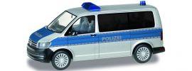 herpa 092814 VW T6 Bus Polizei Niedersachsen | Blaulichtmodell 1:87 online kaufen