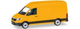 herpa 092838-002 MAN TGE Kastenwagen HD gelb | Automodell 1:87 online kaufen