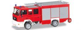 herpa 092913 MAN M 2000 HLF FW unbedruckt | Blaulichtmodell 1:87 online kaufen