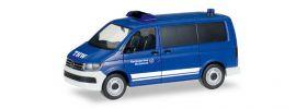herpa 093057 VW T6 Transporter THW Blaulichtmodell 1:87 online kaufen