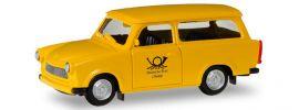 herpa 093095 Trabant 601 Universal Deutsche Post  Automodelll 1:87 online kaufen