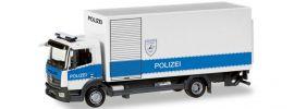 herpa 093538 MB Atego Polizei Hamburg Entschärfer | Blaulichtmodell 1:87 online kaufen