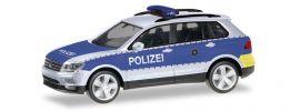 herpa 093613 VW Tiguan Polizei Wiesbaden Blaulichtmodell 1:87 online kaufen