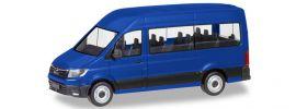 herpa 093743 MAN TGE Bus ultramarinblau Automodell 1:87 online kaufen