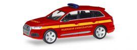 herpa 093965 Audi Q7  Feuerwehr Einsatzleitung neutral Blaulichtmodell 1:87 online kaufen