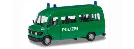 herpa 094139 Mercedes-Benz T1 Bus Polizei Blaulichtmodell BASIC-Modell 1:87 online kaufen