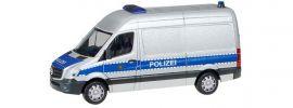 herpa 094238 Mercedes-Benz Sprinter HD Transporter Polizei Sachsen Blaulichtmodell 1:87 online kaufen