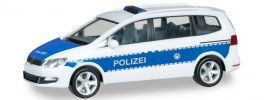 herpa 094283 VW Sharan Bundespolizei Blaulichtmodell 1:87 online kaufen
