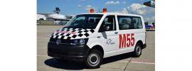 herpa 094399 VW T6 Multivan Fraport Marshalling Automodell 1:87 online kaufen