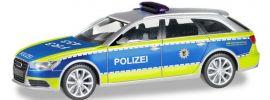 herpa 094405 Audi A6 Avant C7 Polizei Baden-Württemberg Blaulichtmodell 1:87 online kaufen