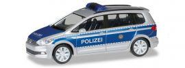 herpa 094412 VW Touran Polizei Berlin Blaulichtmodell 1:87 online kaufen