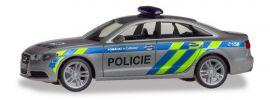 herpa 094429 Audi A6  Limousine C7 Polizei Prag Blaulichtmodell 1:87 online kaufen