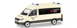 herpa 094467 MAN TGE Bus HD Deutsches Rotes Kreuz Nordrhein-Westfalen Blaulichtmodell 1:87 online kaufen