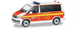 herpa 094474 VW T6 Bus MTW Freiwillige Feuerwehr Norderstedt Blaulichtmodell 1:87 online kaufen