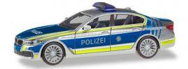 herpa 094566 BMW 5er Limousine G30 Lotsenfahrzeug Polizei München Blaulichtmodell 1:87 online kaufen