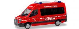 herpa 094597 VW Crafter Bus HD Feuerwehr Eschwege Einsatzleitung Blaulichtmodell 1:87 online kaufen