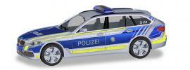 herpa 094603 BMW 5er Touring G31 Polizei Bayern Blaulichtmodell 1:87 online kaufen