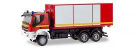 herpa 094610 Iveco Trakker Wechsellader-LKW Feuerwehr neutral Blaulichtmodell 1:87 online kaufen