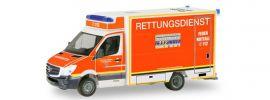 herpa 094627 Mercedes-Benz Sprinter Fahrtec RTW Feuerwehr Düsseldorf Blaulichtmodell 1:87 online kaufen