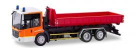 herpa 094641 Mercedes-Benz Econic WechselladerLKW Feuerwehr Düsseldorf Blaulichtmodell Spur H0 online kaufen