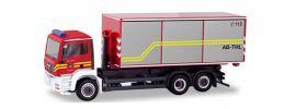 herpa 094689 MAN TGA M WechselladerLKW Feuerwehr Dachau Blaulichtmodell Spur H0 online kaufen