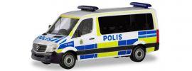 herpa 094719 Mercedes-Benz Sprinter 2013 Bus Polis Blaulichtmodell Spur H0 online kaufen