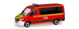 herpa 094733 MB Sprinter MFZ Branddirektion München Blaulichtmodell Spur H0 online kaufen